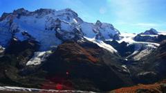 Zermatt Rock detail Stock Footage