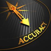 Stock Illustration of Accuracy Concept.