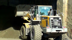 0151  Front loader Stock Footage