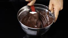 Food Chocolate Truffles Chocolatier Stock Footage