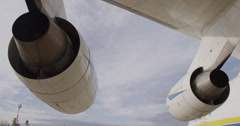 Antonov 225 Mriya airplane Stock Footage