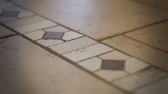 Dolly-Tile Floor-real estate Stock Footage