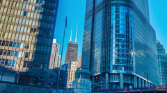 Downtown Chicago - stock footage