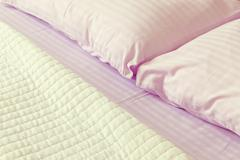 bed sheets - stock photo