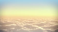 Clouds panorama. Stock Footage