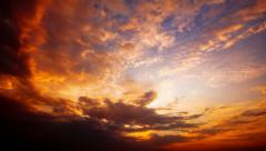 Sunset - timelapse. 4K. FULL HD, 4096x2304. Stock Footage