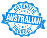 Stock Illustration of australian product grunge blue stamp