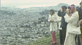 Tourists SAN FRANCISCO Cityscape TWIN PEAKS Vintage 1970s Film Home Movie 7538 HD Footage