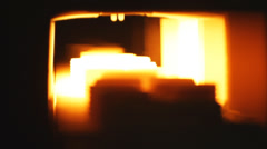 Kiln. Industrial oven for roasting. Stock Footage