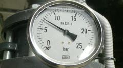 industrial bar meter 2 - stock footage