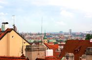 Stock Photo of Prague Cityscape