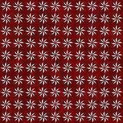 Red and white decorative swirl design textured fabric background Stock Illustration