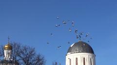 Stock Video Footage of Ukraine, holiday Christening