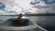 Stock Video Footage of Speedboat wake
