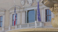 Stock Video Footage of Embassy of the French Republic (Palazzo Farnese) in Piazza Farnese, Rome, Lazio,