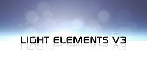 After Effects Project - Pond5 Light Elements V3 34273311