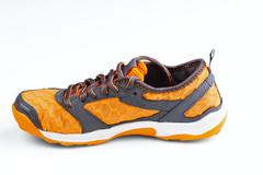 Athletic unisex shoes Stock Photos