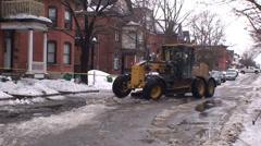 Snow plow Stock Footage