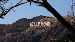 Los Angeles Hollywood Sign (Cities) Stock Footage
