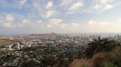 Honolulu Skyline, Oahu, Hawaii (Cities) Stock Footage