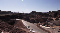 Hoover Dam, Nevada, Pan (Cities) Stock Footage
