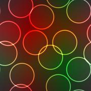 abstract elegance background with lighting rings - stock illustration