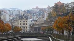Karlovy Vary Stock Footage