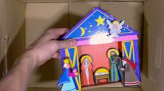 Christmas box1 Stock Footage