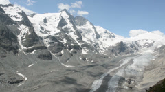 Grossglockner peak Stock Footage