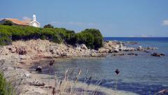 Sardinia. Seascape. Stock Footage