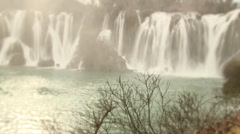 Kravica Waterfalls (Bosnia-Herzegovina) Stock Footage