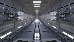 Sci-fi Gate Stock Footage