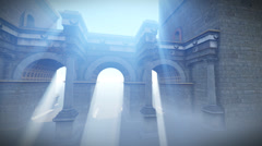 Roma Gate Stock Footage
