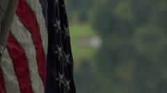 American Flag | Close Up - stock footage