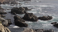 Rocky Pacific Coast Stock Footage