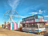 Stock Photo of fair midway