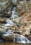Peekamoose  Gorge Buttermilk Falls Stock Photos