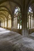 monastery of oliva - stock photo
