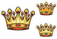 Stock Illustration of royal king crown