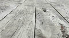 Wooden Deck Texture Planking Weathered Decking Wood Grain Barn Stock Footage