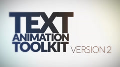 Text Animation Toolkit v.2 - 10 in 1 Stylish After Effects Easy to Use FX Pack - stock after effects