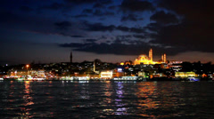 Eventide over Goldenhorn Stock Footage