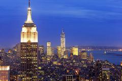 Empire State building, New York, USA Stock Photos