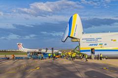 Antonov 225 Mriya - stock photo