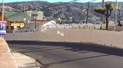 0799 Street on the hill, Valparaíso Stock Footage
