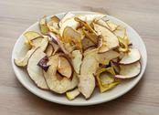 Stock Photo of dried sliced apples