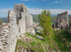Gymes castle Stock Photos