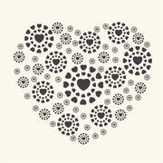 Vector of Valentine's Day - stock illustration