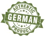 Stock Illustration of german product green grunge stamp