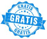 Stock Illustration of gratis grunge round blue seal